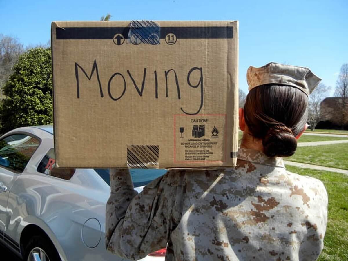 military moving Hawaii